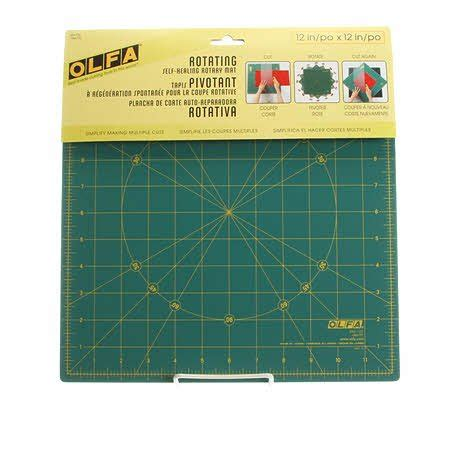olfa pattern weights olfa rotating cutting mat 12 091511300826