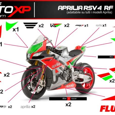 Superbike Aufkleber Set by Sticker Aufkleber Superbike Racing