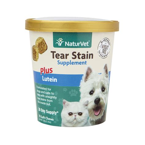 tear stains tear stain supplement soft chews naturvet