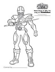 6 dessins de coloriage power rangers samurai 224 imprimer