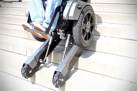 Stair Climbing Chair by Thanks To Scalevo Stairs Will Cease To Be An Obstacle To