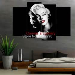 Marilyn Monroe Home Decor by Aliexpress Com Buy Not Framed Marilyn Monroe Canvas