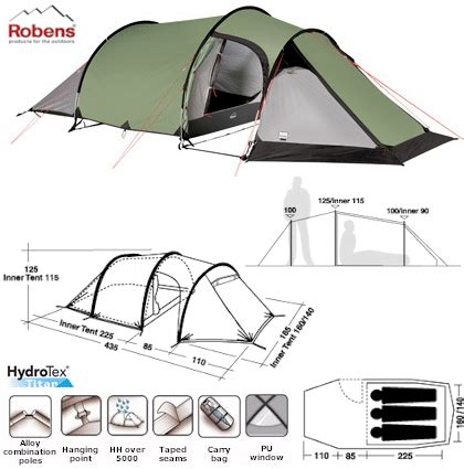 robens dreamer robens light dreamer tunnel tent 2010 model