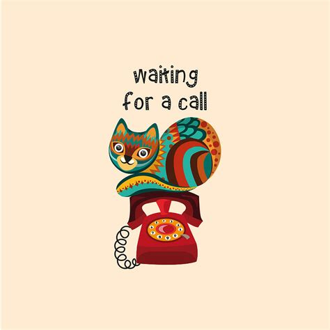 Waiting For The Call Metal Waiting For A Call Digital By Kusjen