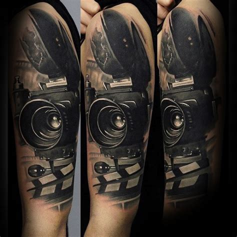 camera tattoo 80 designs for photography ink ideas