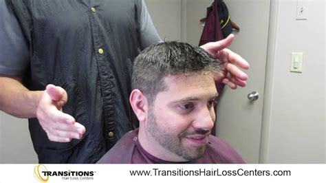 hair replacement system non surgical hair replacement challenge youtube