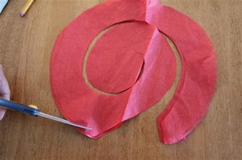 Make Roses Out Of Tissue Paper - diy tissue paper roses