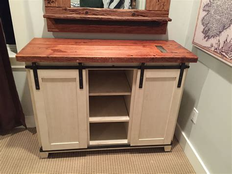 hand  barn door dresser  mkarl llc custommadecom