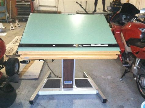 electric drafting table sold electric drafting table high end carolina