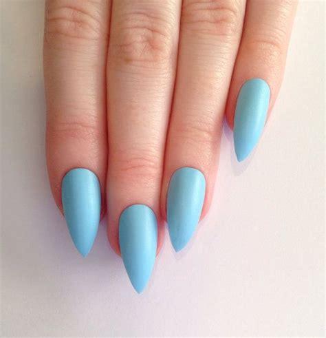baby matte baby blue matte nails newhairstylesformen2014