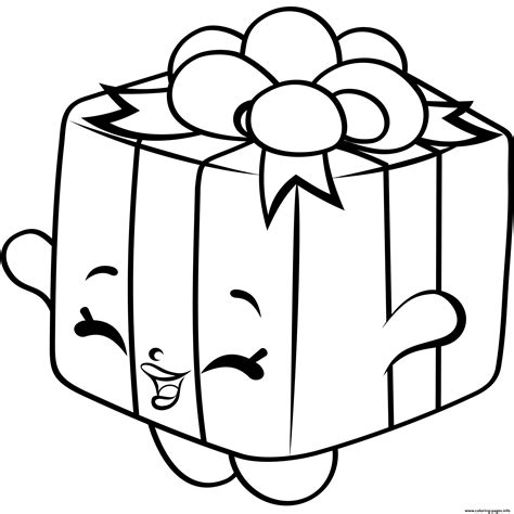 print gift box shopkins season 4 coloring pages shopkins