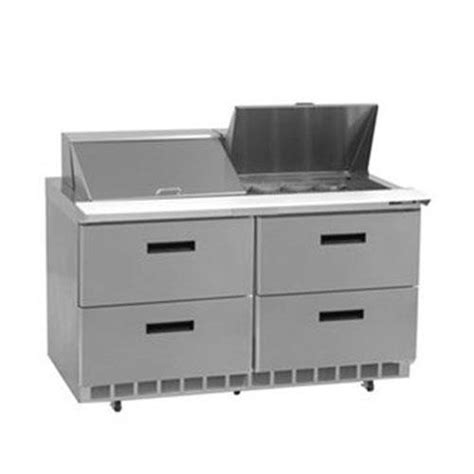 Refrigerated Drawer by Delfield D4448n 12 2 Section Salad Top Refrigerated