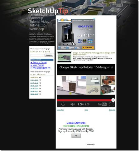 tutorial google sketchup indonesia tutorial google sketchup bahasa indonesia amin blog s