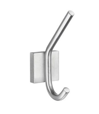 height of robe hook in bathroom smedbo house collection robe hook brushed chrome