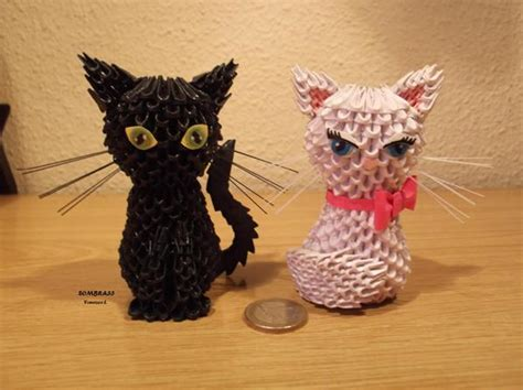 3d Origami Cat - cats jpg album 3d origami