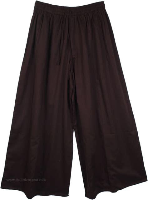 Pant Skirt rider wide leg split pant skirt black split skirts