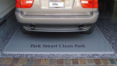 Park Smart Clean Park Parking Mat, Heavy Duty Containment