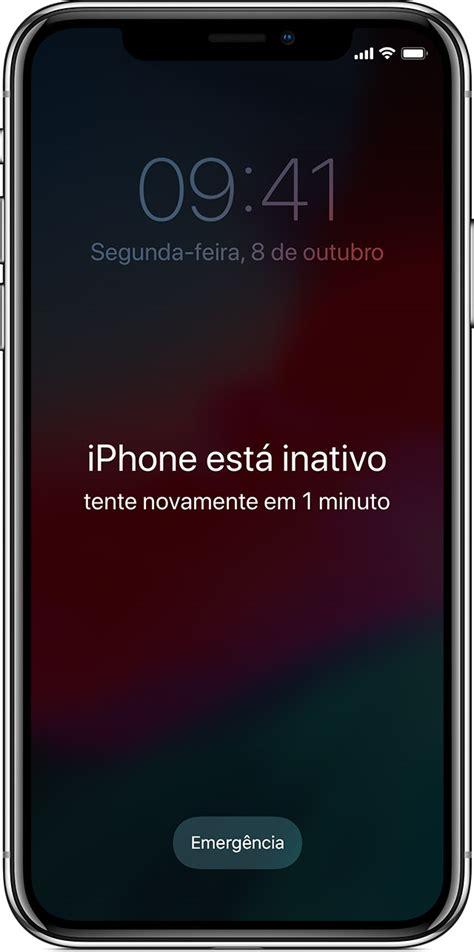 se voc 234 esqueceu o c 243 digo de acesso do iphone ou ipod touch ou o dispositivo est 225