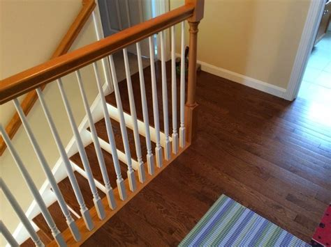 Installing Handrail Stair Stairs Design Idea With Prefinished Oak Treads