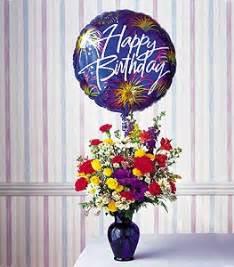 Just Flowers Inc - birthday fireworks tf43 2 coleman florist inc
