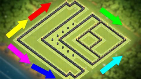 th9 layout strategy new quot strongest quot 2017 town hall 9 trophy war base th9