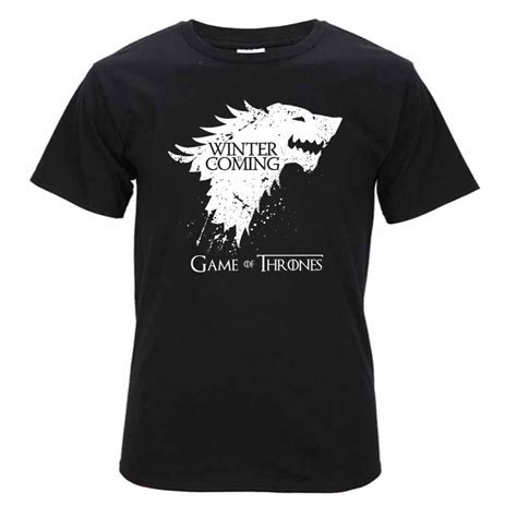 Tshirt Winter Is Coming I new of thrones winter is coming t shirt of
