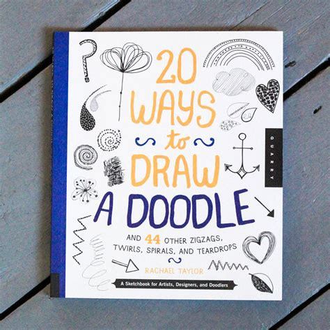 doodle craft 20 ways to draw a doodle craft book by berylune