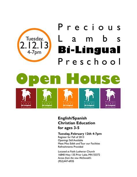 preschool open house flyer corissa nelson art
