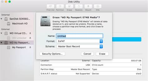 format exfat my passport how to format a wd hard drive to exfat or fat32 file system