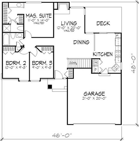 coastal cottage floor ls 90 best house plans images on small houses