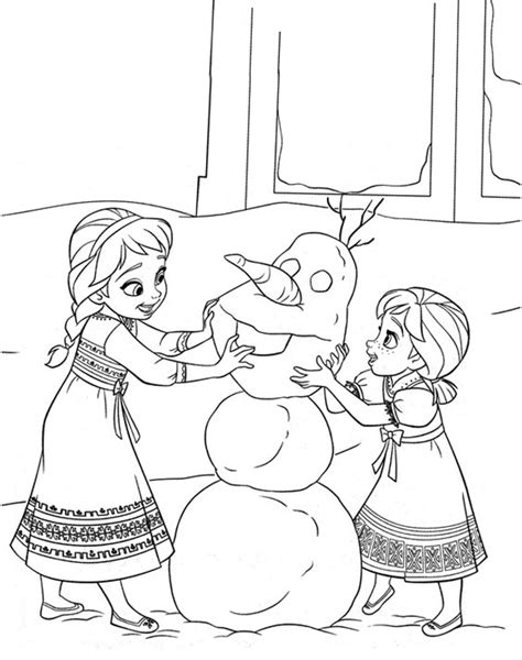free frozen coloring pages and activities frozen coloring pages