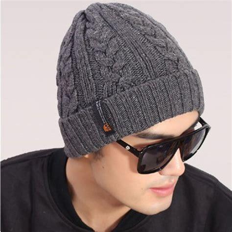 gorros con la tablita hombres coreanos gorros sombreros del ganchillo hombre