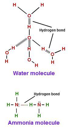 exle of hydrogen bond hydrogen bonding strength exle hydrogen bonding in