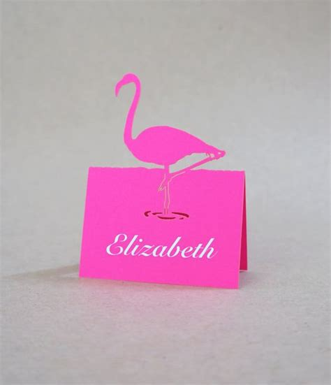 Flamingo Pop Up Card Template by Flamingo Pop Up Place Cards Set Of 10 Cards