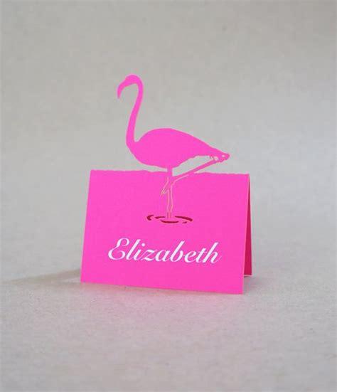 flamingo pop up card template flamingo pop up place cards set of 10 cards