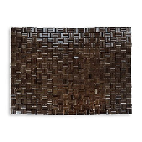 bed bath and beyond shower mat buy bamboo shower floor mat from bed bath beyond