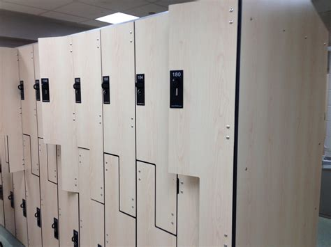hey look new lockers at the afc recreation george