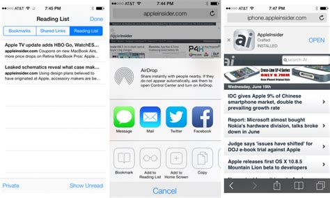 Set Safira Flow inside ios 7 safari gains portrait fullscreen unified
