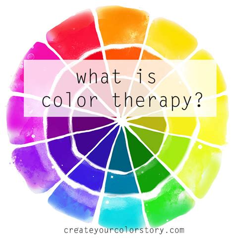 what is this color what is color therapy create your color story