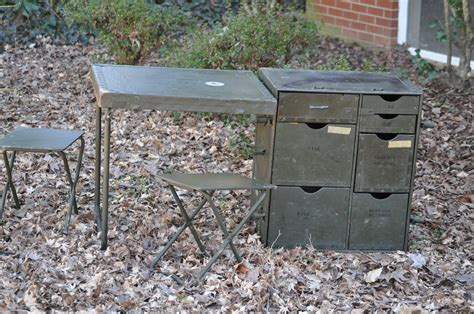 field desk vintage wwii us field desk headquarters