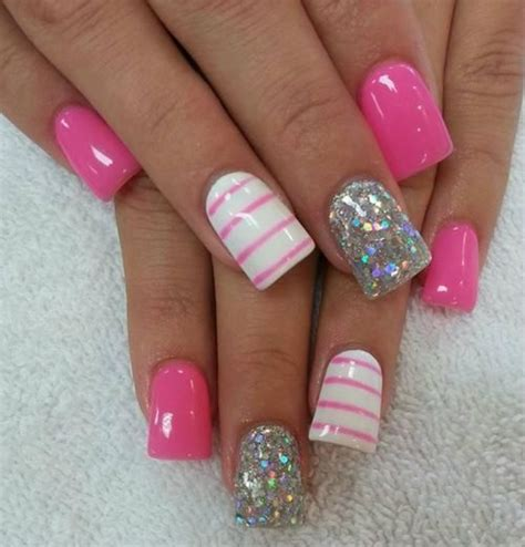 nail ideas for miami beach manicure pinterest girls nail designs it s a girl thing pinterest silver
