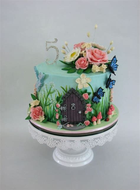 Garden Cakes Ideas Enchanted Garden Gardens And Purpose On Pinterest