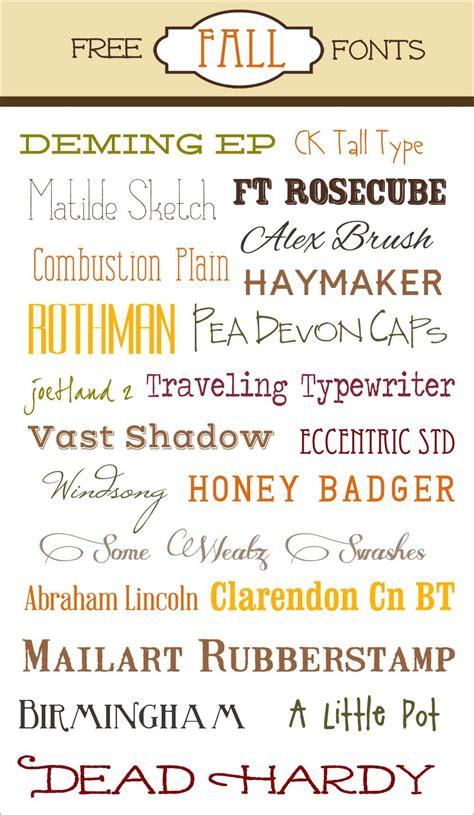fall fonts scrapbooking fall fonts fonts typography fonts