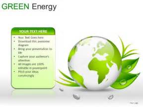 globes green energy powerpoint slides and ppt diagram