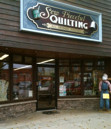 Quilt Shops Wisconsin by Quilt Shops Sew Pieceful Quilting Tomahawk Wi