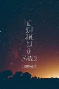 light bible verses quotes about darkness quotesgram