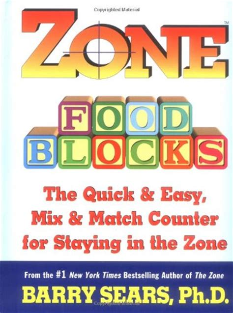 Zone Food Blocks The Quick And Easy Mix And Match