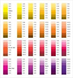 color pdf pantone color chart sle 8 documents in word pdf