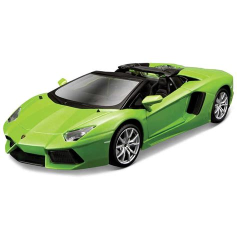 maisto model kit green lamborghini aventador lp 700 4 roadster car m39124 ebay