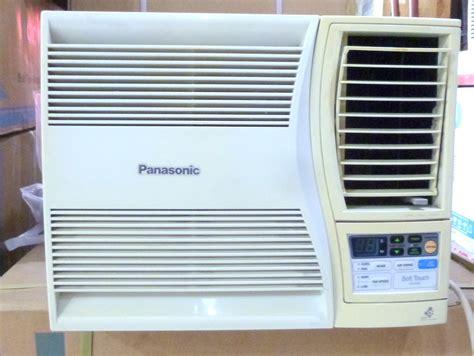 Aircon Panasonic 1hp panasonic 3 4 hp window type aircon with electronic timer cebu appliance center